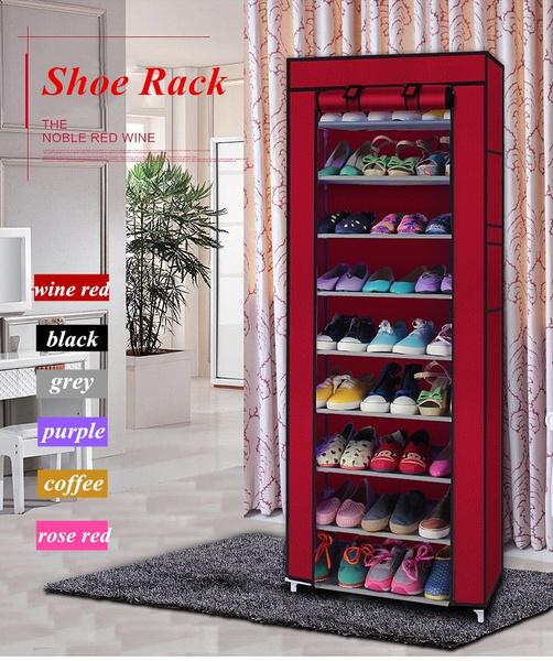 shoeorganizer, Closet, chrome, Shelf