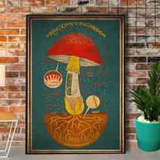Paper, wishpostercanva, Mushroom, merchiconwi