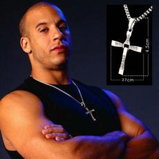 Moda, Cross necklace, Cross Pendant, mens necklaces