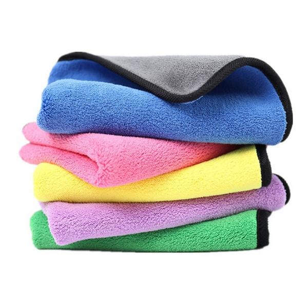 Microfiber, Cloth, Household, Cleaning