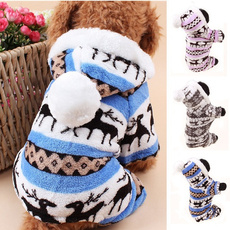 autumnwinter, Pet Dog Clothes, Fashion, Deer