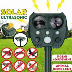 ultrasonicanimalrepeller, petdogrepeller, solaranimalrepeller, Solar