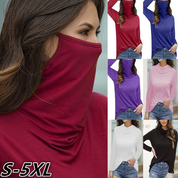 dustproofmask, long sleeve blouse, Long Sleeve, Masks