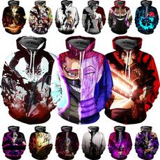 3D hoodies, Plus Size, pullover hoodie, Clover