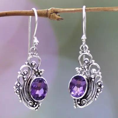 Sterling, Dangle Earring, Silver Earrings, Vintage