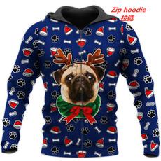 3D hoodies, Fashion, Christmas, printed