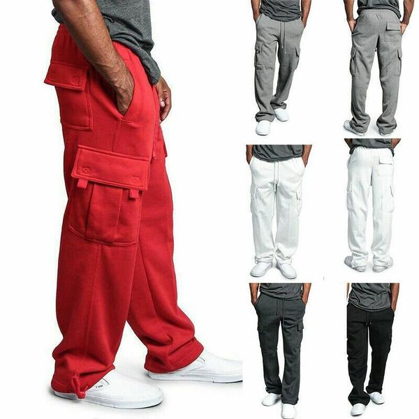 Heavy, Fleece, trousers, Casual pants