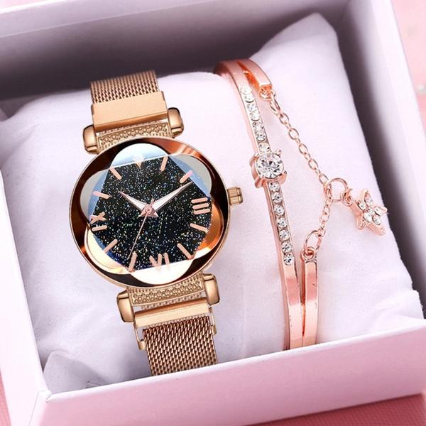 starryskywatch, Fashion, Bracelet Watch, Sky