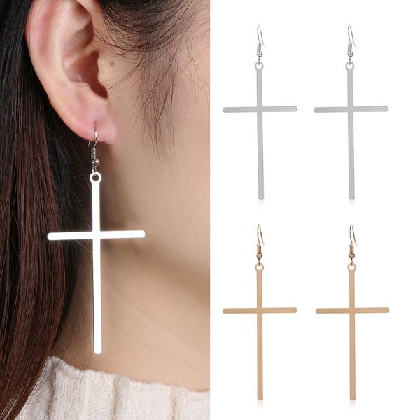 bohemia, crossearring, Dangle Earring, Jewelry