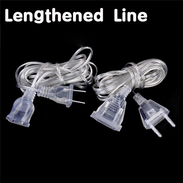 powerextensioncord, ledcurtainextension, lengthenedline, Wire