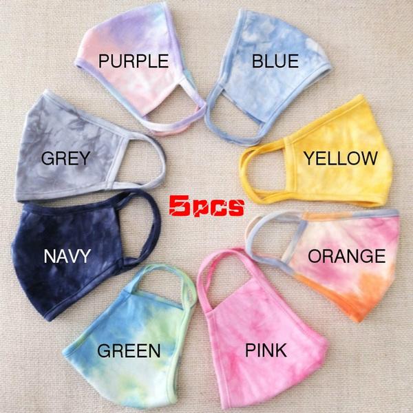 tiedyefacemask, mouthmuffle, unisex, printedmask