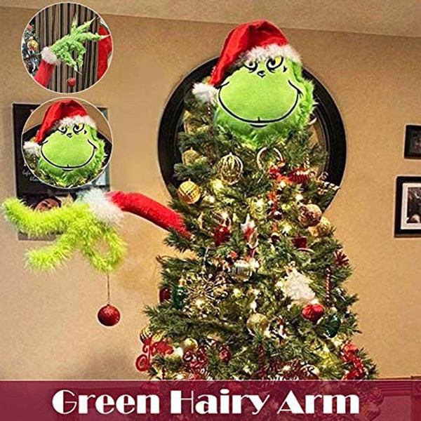 Plush Doll, Christmas, doll, grinch