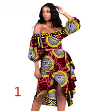 party, Plus Size, waxprinted, africandre