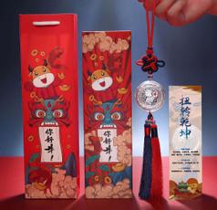 decoration, Jewelry, Chinese, giftfortheyearoftheox