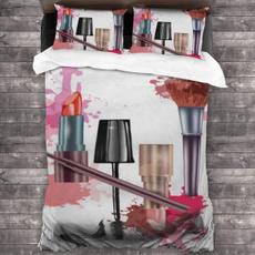 Beautiful, pink, Beauty, cotton3piecebedsheet
