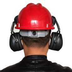 Helmet, hardhatearmuff, hardhatearmuffattachment, soundproofearmuff