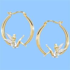 flowerfairyearring, DIAMOND, gold, wedding earrings