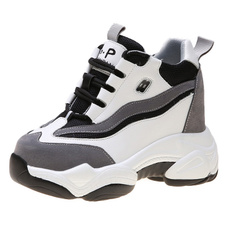 Sneakers, increased, cm, Breathable