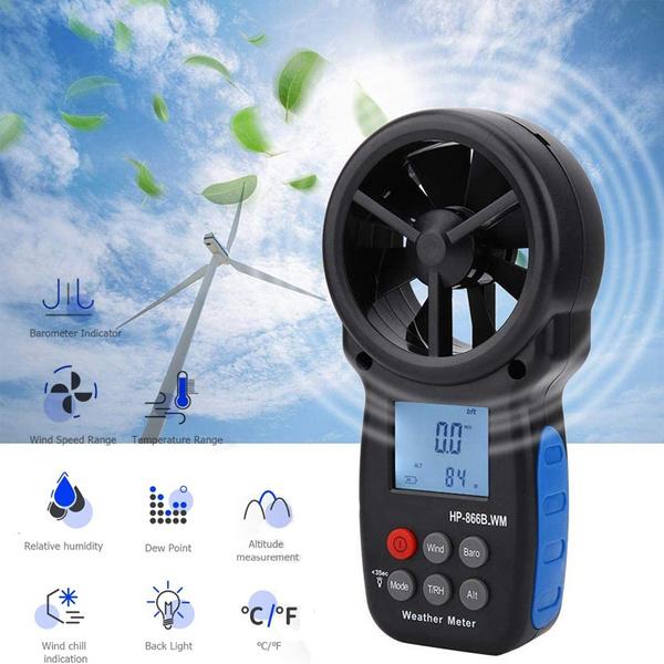 handheldanemometer, windchilltester, anemometer, digitalanemometer