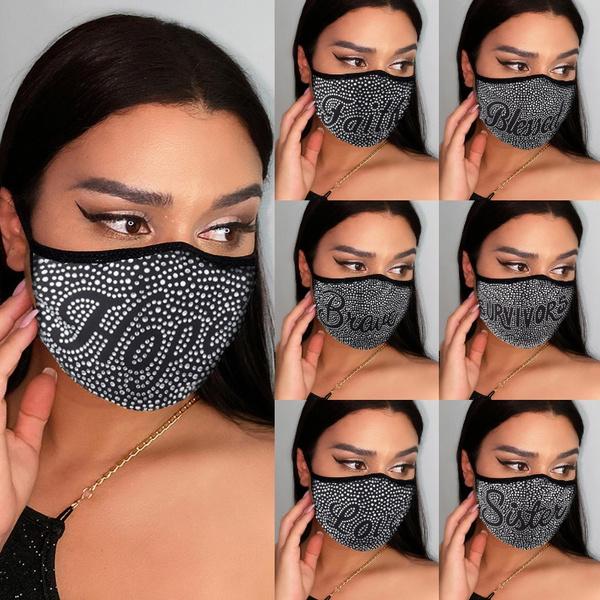 Bling, mouthmask, unisex, washablemask