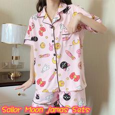 pink, pajamaset, Sleepwear, Shorts