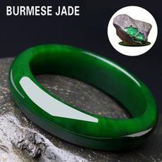 womenjadebracelet, Wristbands, jadering, Bangle