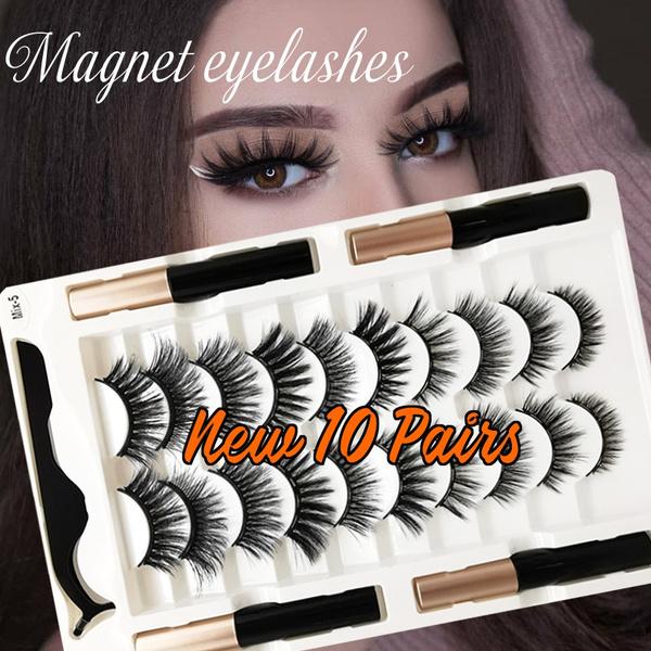 reusablefakeeyelashe, False Eyelashes, magnetreusableeyelashe, Beauty