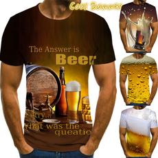 Mens T Shirt, summer t-shirts, Summer, graphic tee