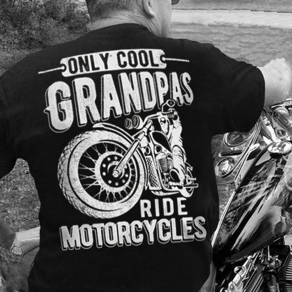 grandpashirt, Fashion, Gifts, motorcycleshirt