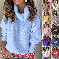 Plus Size, knitpullover, Fashion, Sleeve