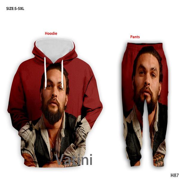 Plus Size, 3dalloverprintsweatshirt, pants, track suit