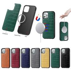 case, Mini, magneticfittedcaseforiphone12minipromax, formagsafewirelesschargerreceiverbackcase