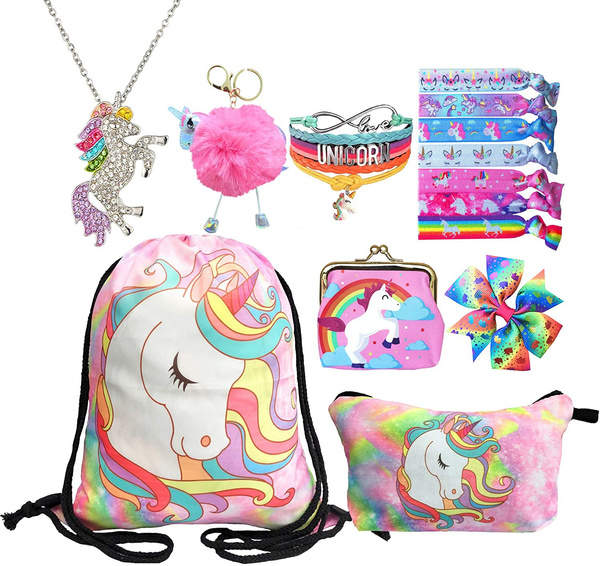Makeup bag, Kids' Backpacks, gymdrawstringbag, unicorngiftsforgirl