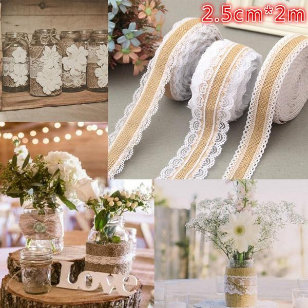 Decor, wedding decoration, Ribbons, Lace