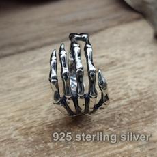 Sterling, ringsformen, Goth, Moda masculina