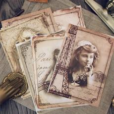 Scrapbooking, scrapbookingsticker, Mobile, Vintage