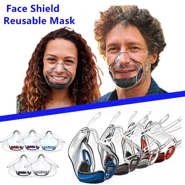 transparentmask, mouthmask, faceshield, plasticfacemask