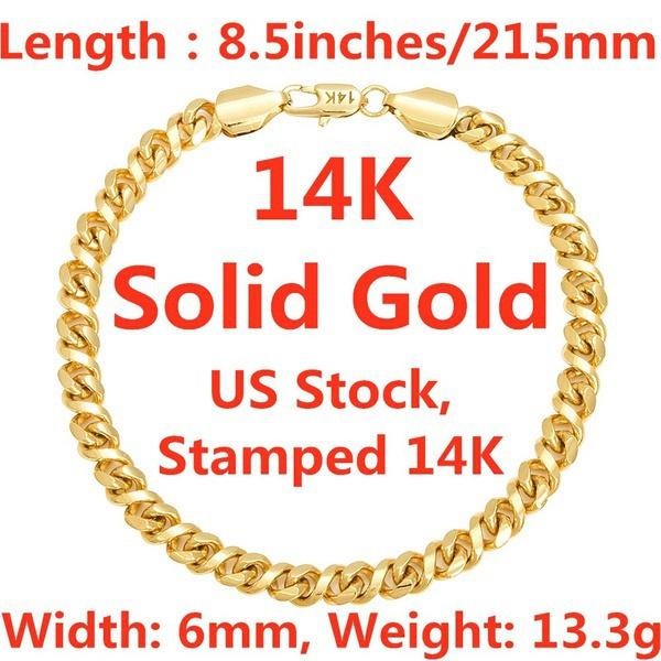 yellow gold, Chain, chianbracelet, Womens Jewelry