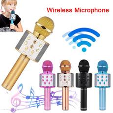 bluetoothmicrophone, Microphone, karaokemicrophone, Home & Living