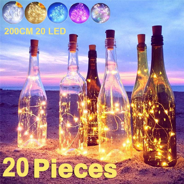 Bottle, Holiday, Night Light, Home Decor