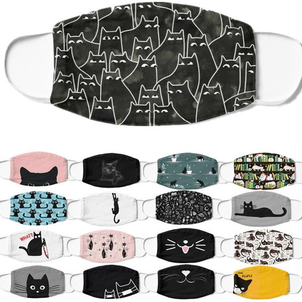 blackcatprinting, cute, Fashion, antidust