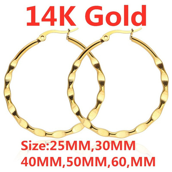 yellow gold, Hoop Earring, Jewelry, gold