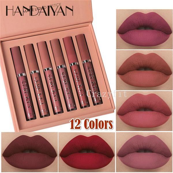 Beauty Makeup, liquidlipstick, lipstickmatte, cosmeticslipstickset