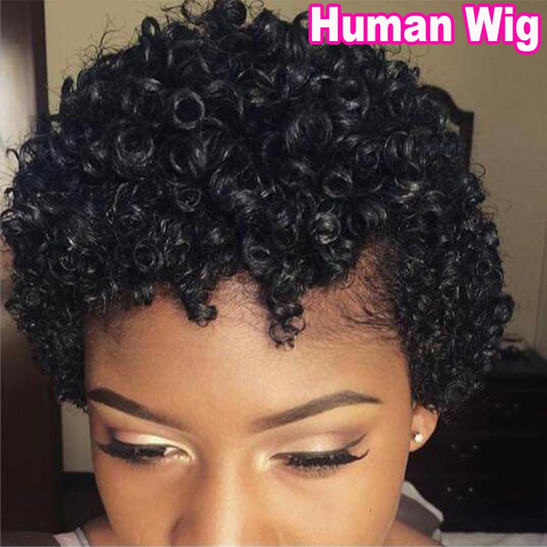 wig, Shorts, Hair Extensions & Wigs, hairreplacementwig