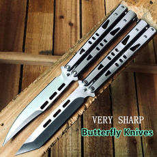 butterfly, pocketknife, outdoorknife, Survival