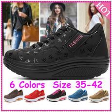Sneakers, Plus Size, Platform Shoes, walkingshoesforwomen