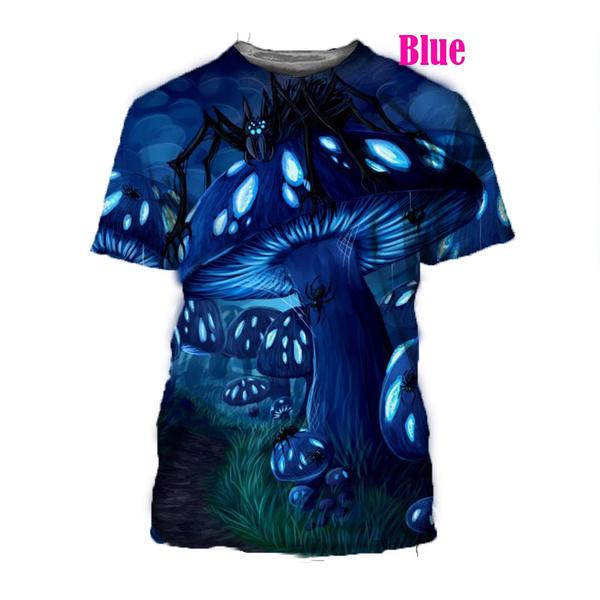 Funny, Fashion, Shirt, Mushroom