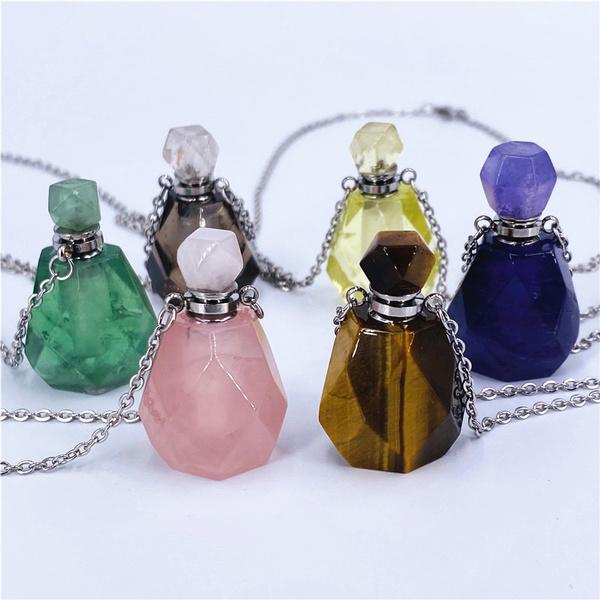 crystalhealing, quartz, Jewelry, Bottle