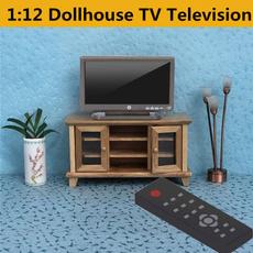 Television, miniaturetelevision, Remote, TV
