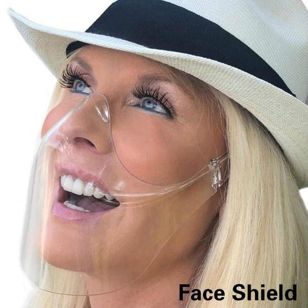 transparentmask, shield, Masks, protectivefacemask